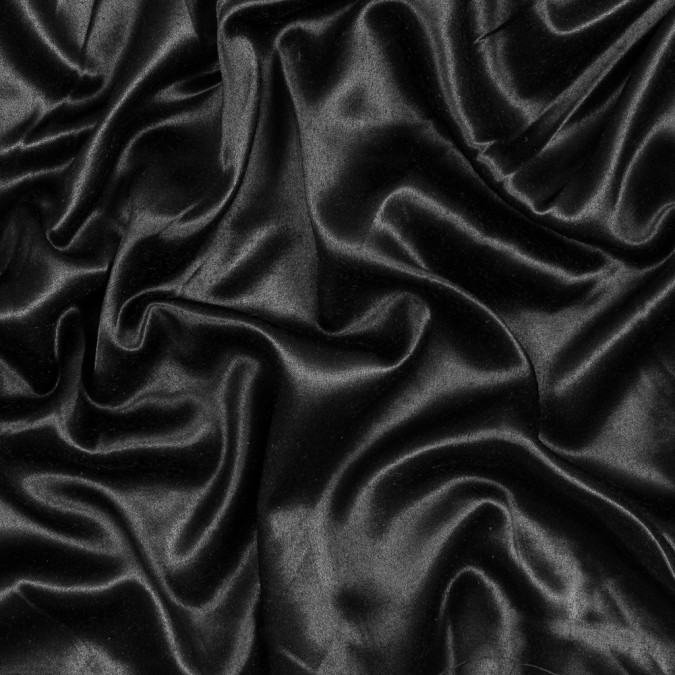 black cotton backed satin 317398 11
