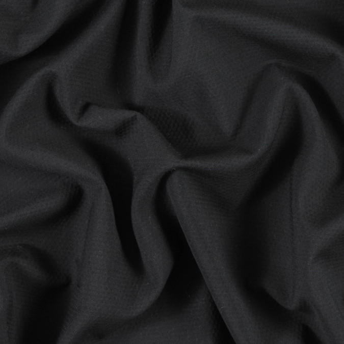 black cotton crepe with give 315446 11