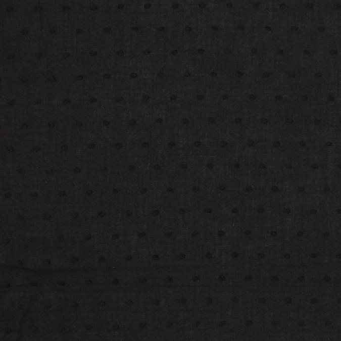 black cotton swiss dot fc25591 11