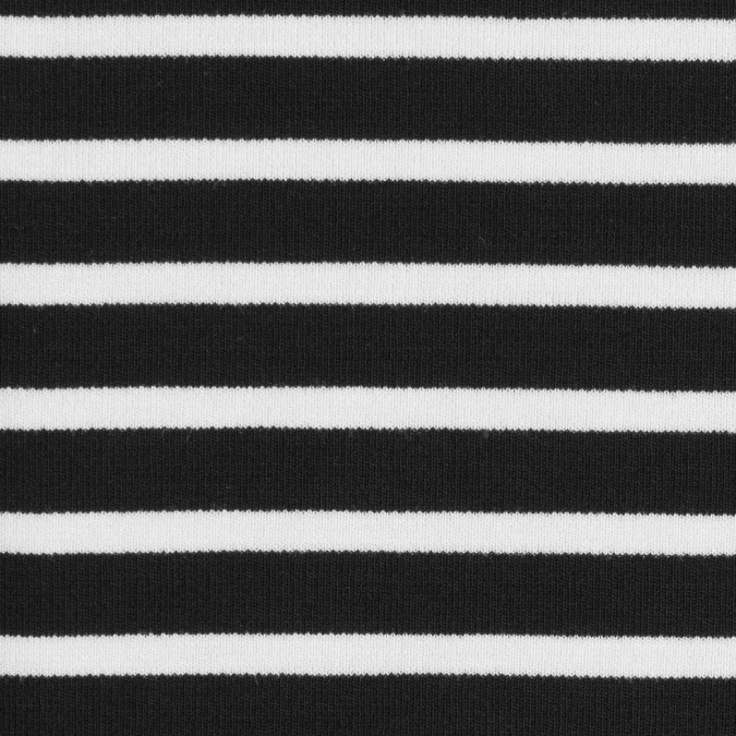 black ecru saint james striped ponte knit fv21185 11