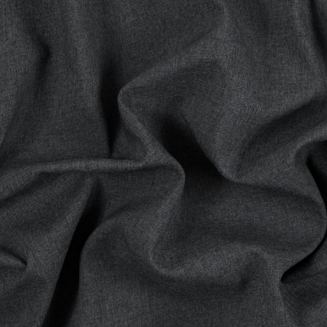 black fleece backed gray polyester woven 315347 11