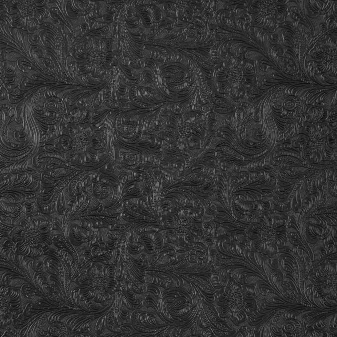 black floral embossed vinyl 311246 11