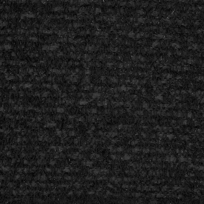 black fringed stretch knit 317535 11