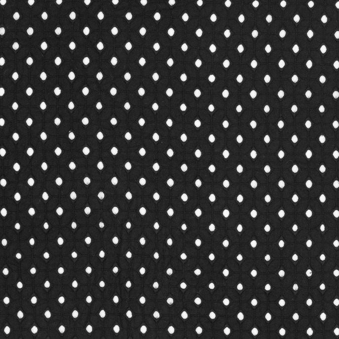 black geometric embroidered eyelet 317636 11