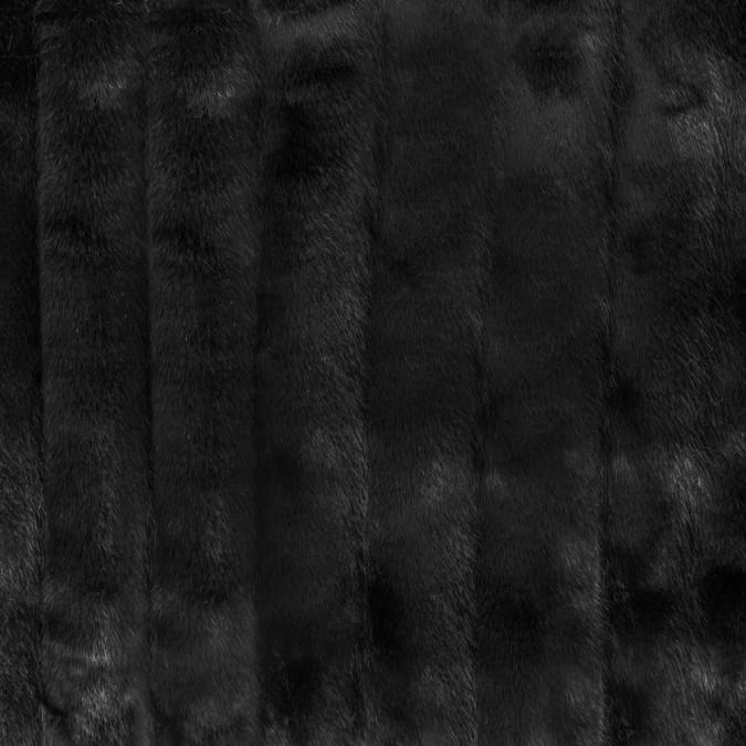 black grooved faux beaver fur 312827 11