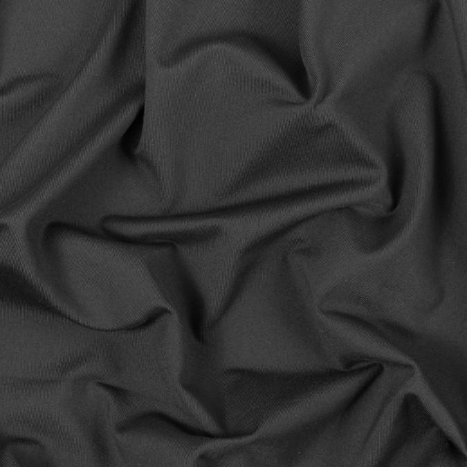 black heavy stretch nylon jersey 312555 11