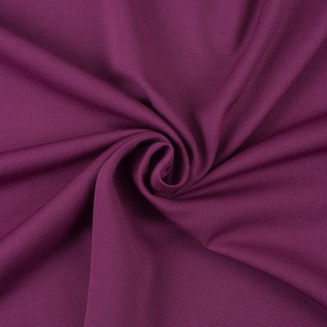 black hollyhock purple double faced viscose jersey 308073 11