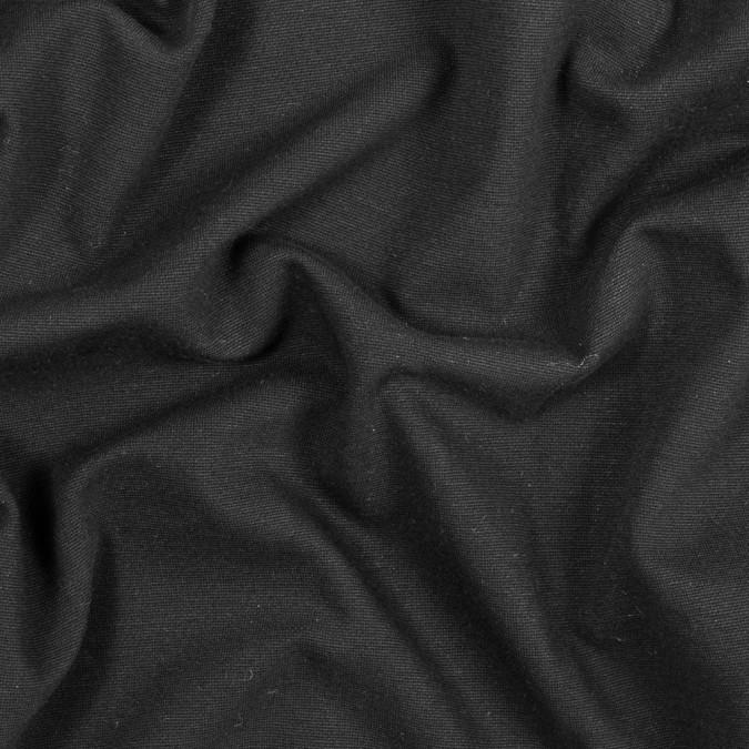 black knit cotton pique 317518 11