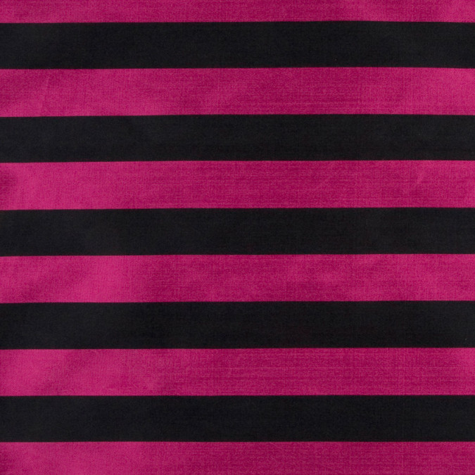 black magenta awning striped polyester taffeta fp18449 11