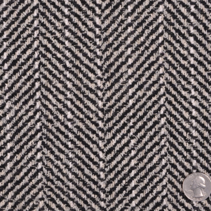 black natural herringbone boucle fw12029 11