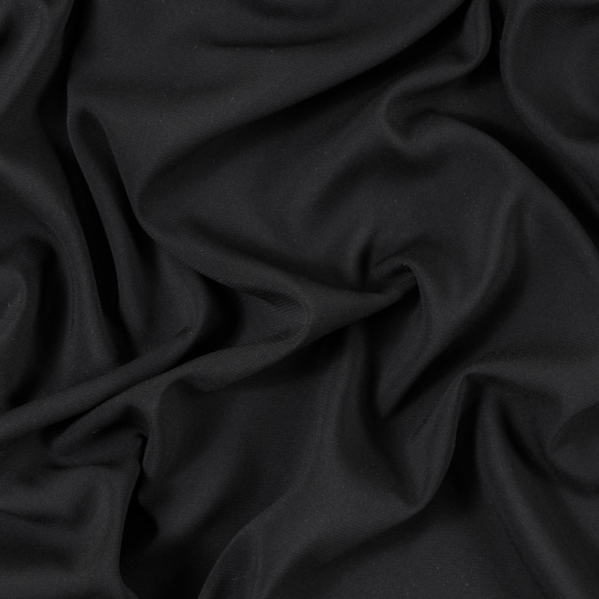 black polyester georgette 315818 11