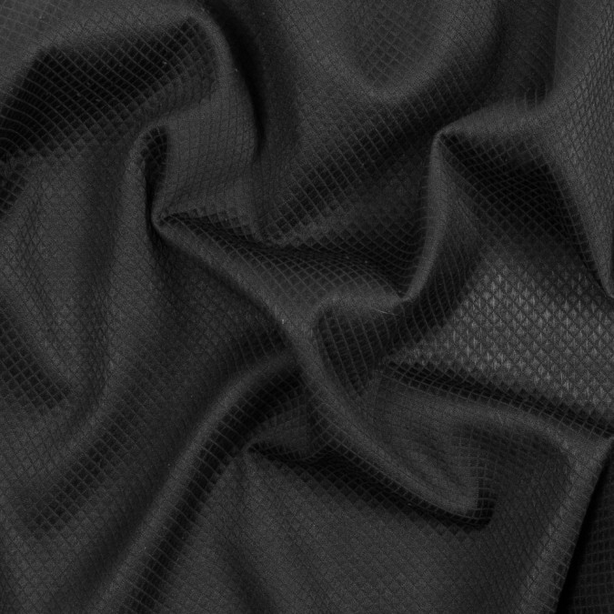 black quilted cotton woven 317417 11