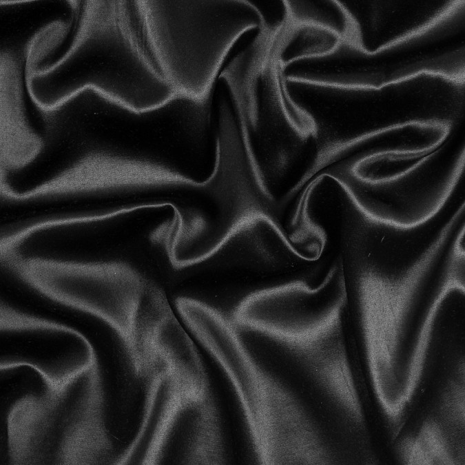 black rayon and polyester satin 317392 11