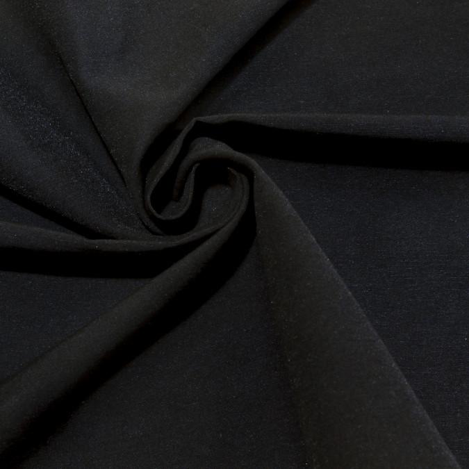 black rayon blended stretch twill 309157 11