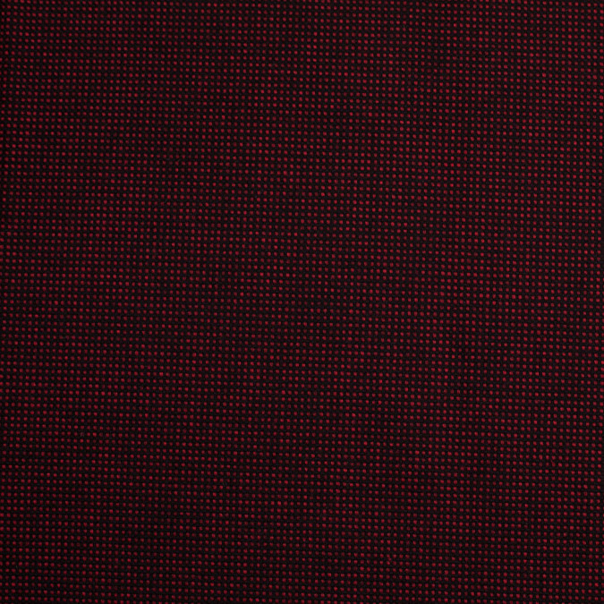 black red cotton polyester woven 305928 11
