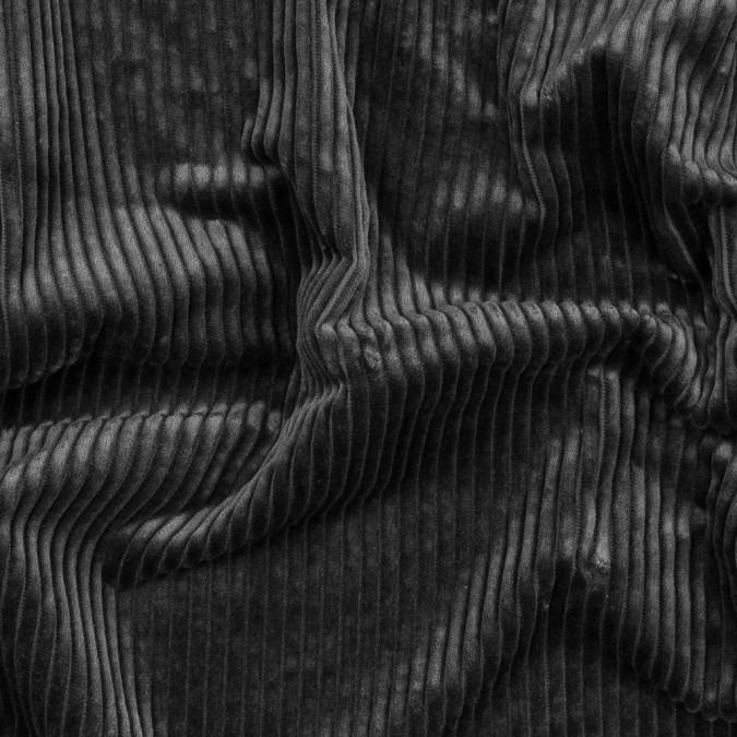 black ribbed cotton velveteen 318969 11