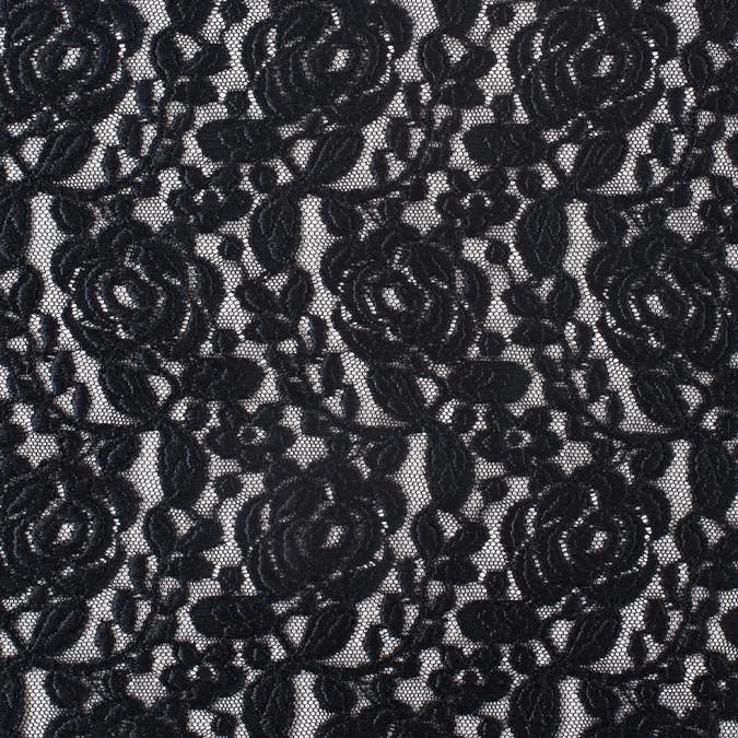 black rosette lace mesh 308081 11
