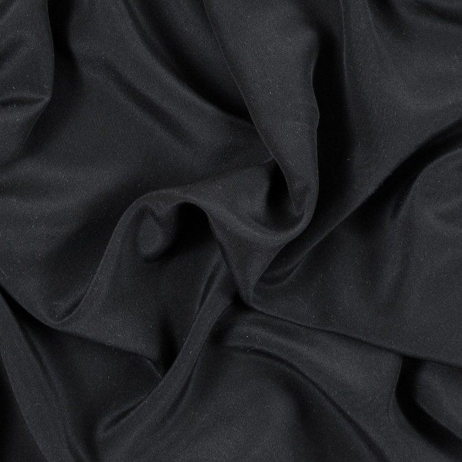 black satin faced silk double georgette 315363 11