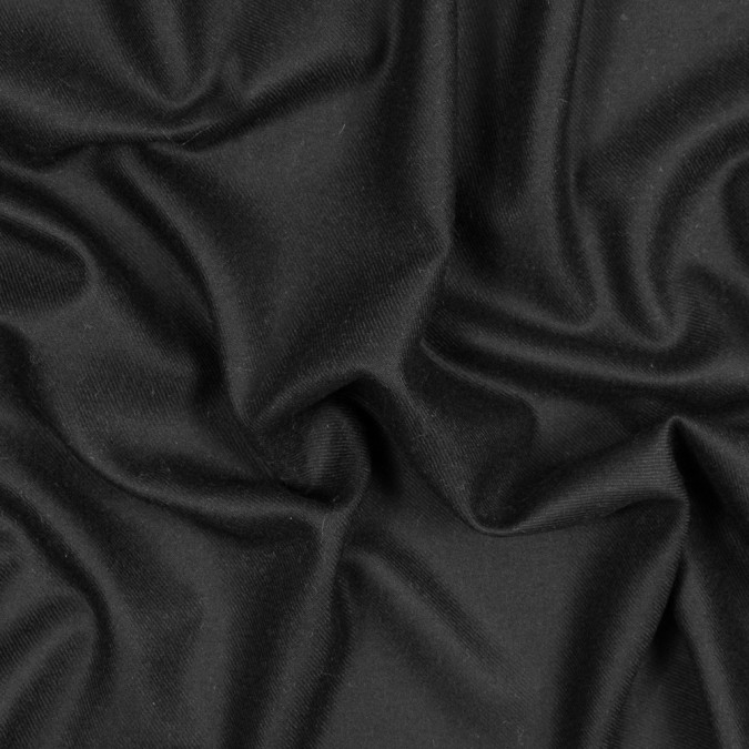 black soft wool twill 317876 11