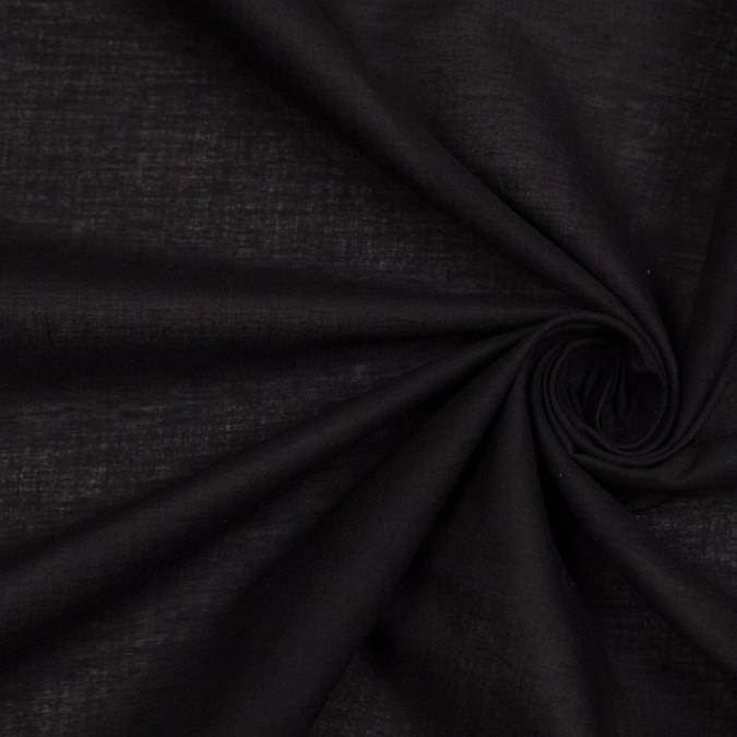 black solid cotton lawn 306784 11