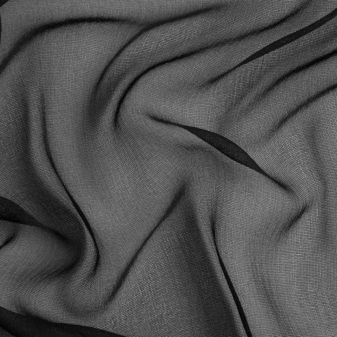 black solid silk gauze fs23701 11