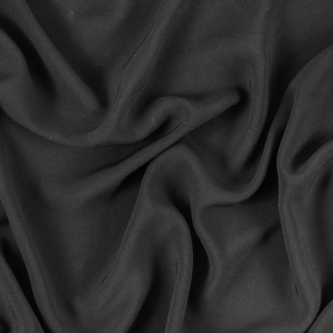 black solid viscose batiste 310994 11
