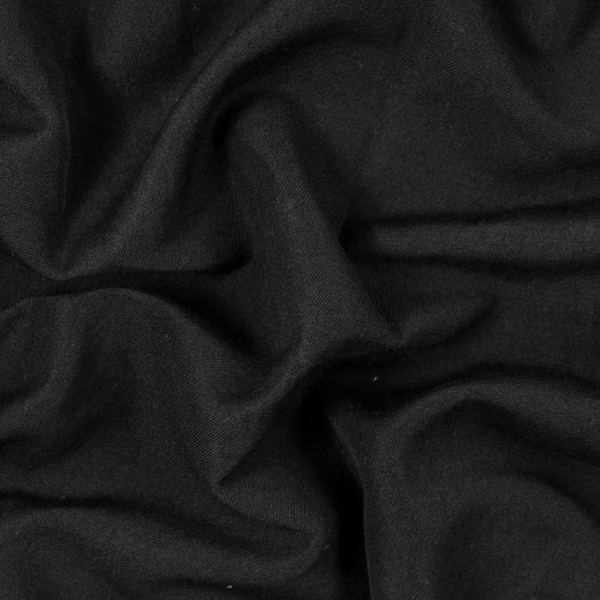 black solid wool twill 315199 11