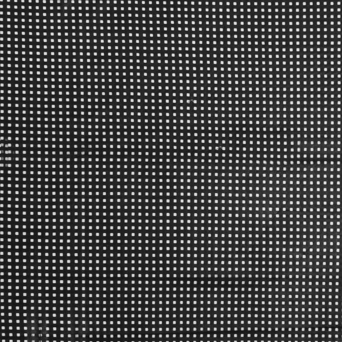 black square perforated faux leather 319615 11