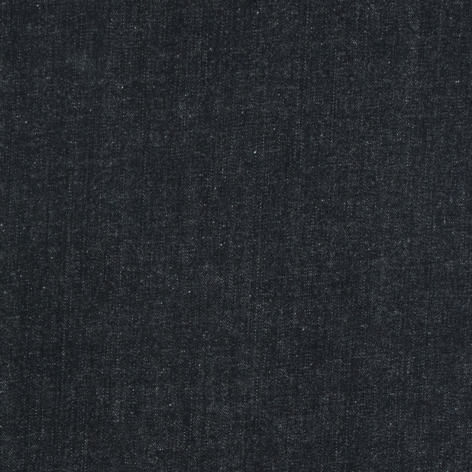 black stiff cotton denim 313944 11