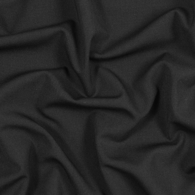 black stretch blended wool twill 317579 11