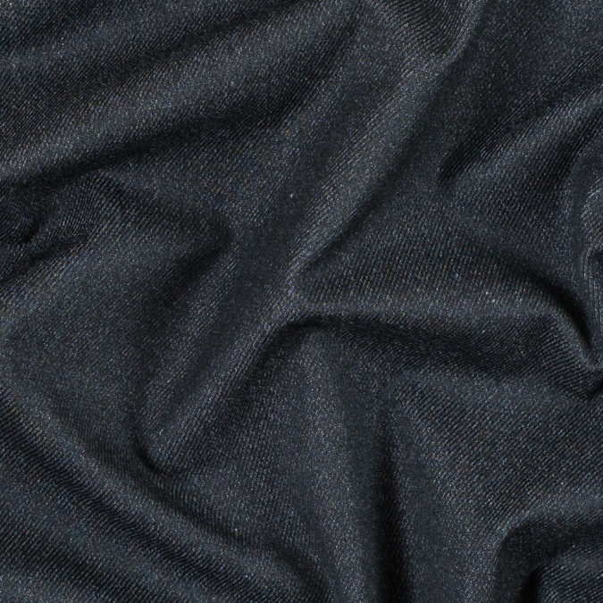 black stretch cotton twill 314512 11