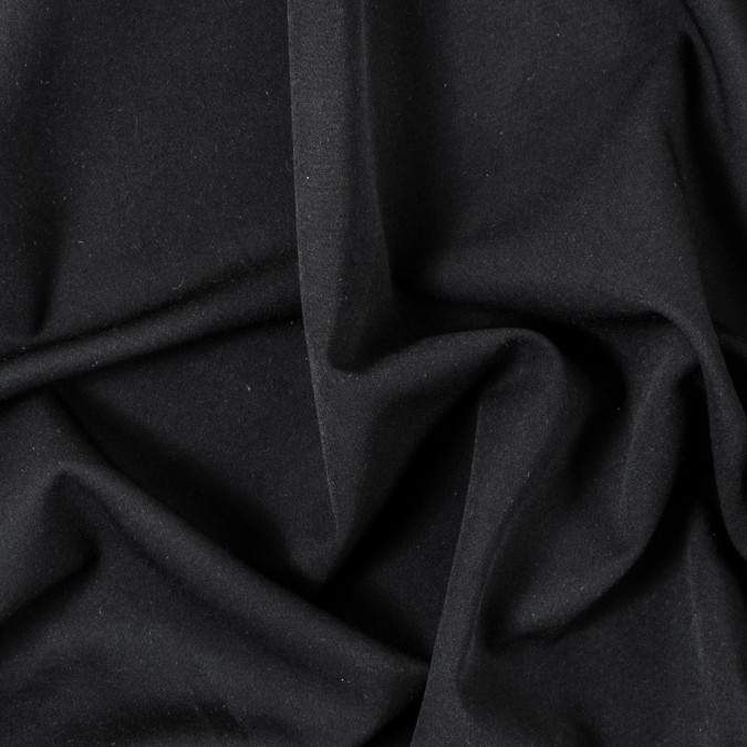 black stretch polyester suiting 314967 11