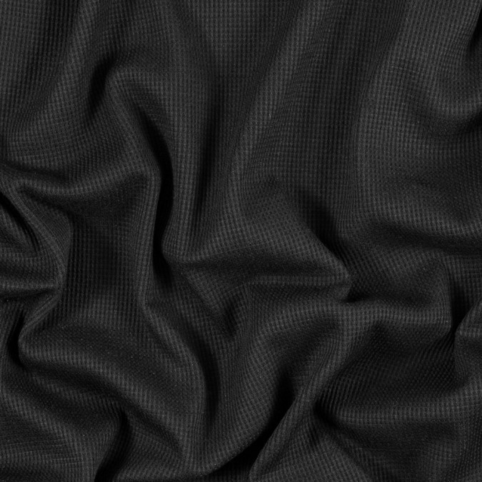 black stretch polyester thermal 314684 11