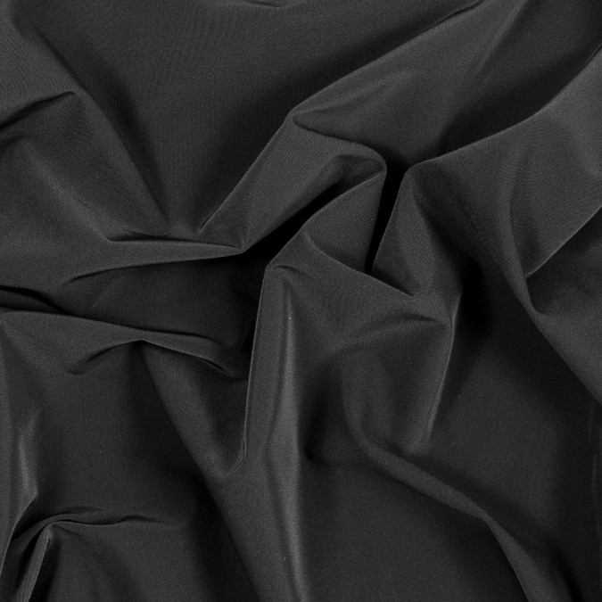 black stretch polyester twill fp25787 11