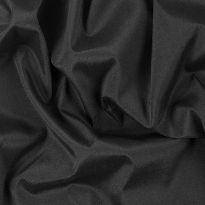 black stretch silk crepe de chine 311751 11