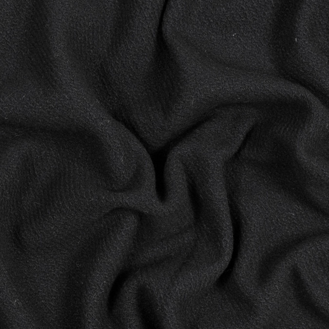 black stretch wool coating 317644 11