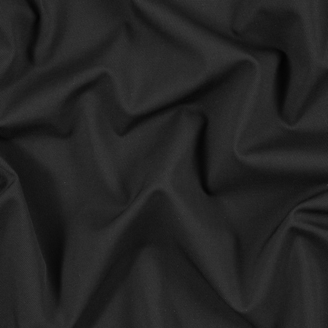 black stretch wool gabardine 300977 11