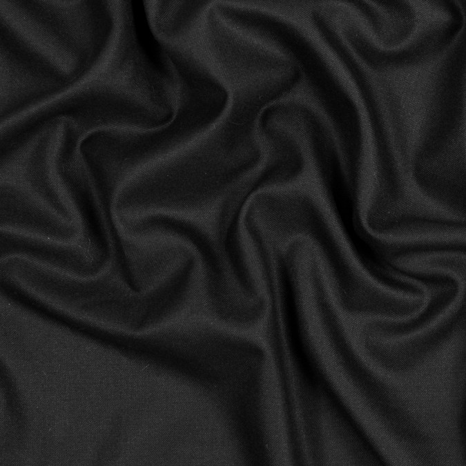 black stretch wool twill 318206 11