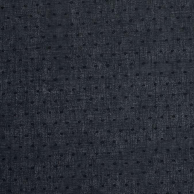 black swiss dot cotton voile 304738 11