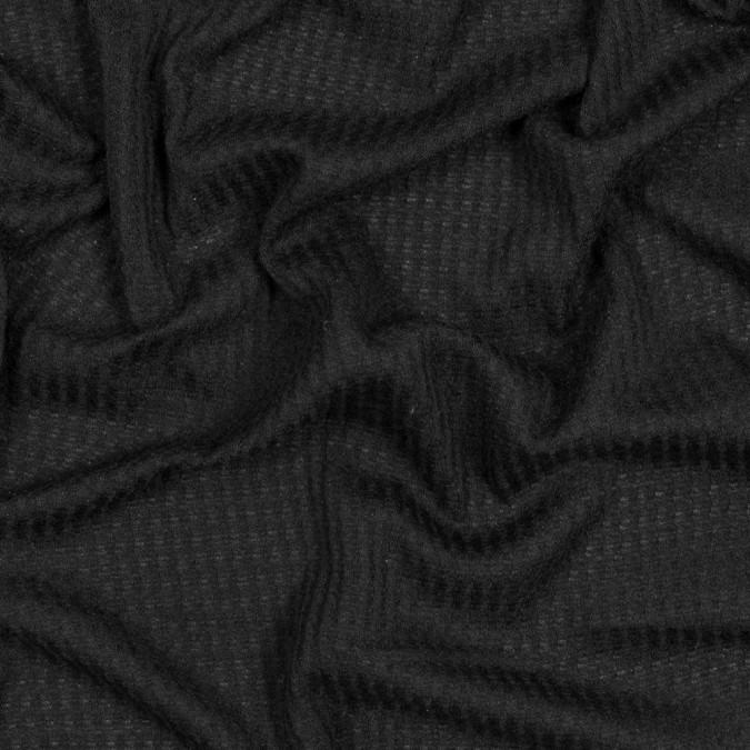 black waffle sweater knit 316474 11