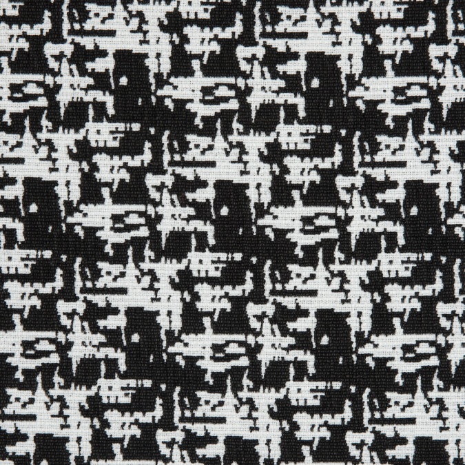 black white abstract brocade jacquard 310856 11