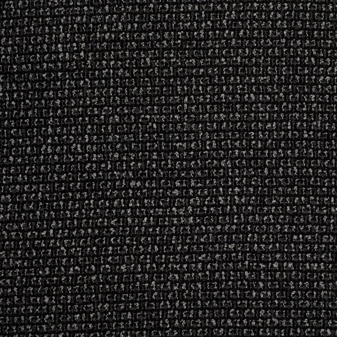 black white gray polyester boucle 305867 11
