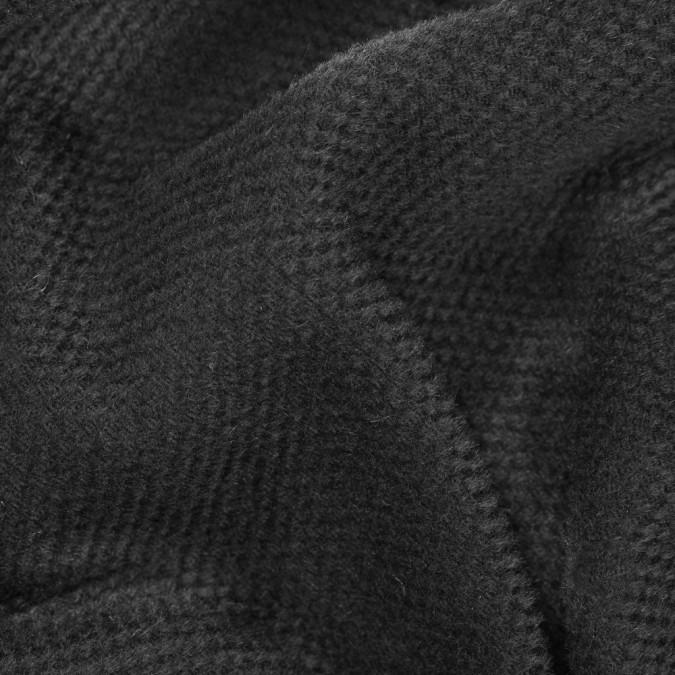 black woolen and worsted wool basketweave 310635 11