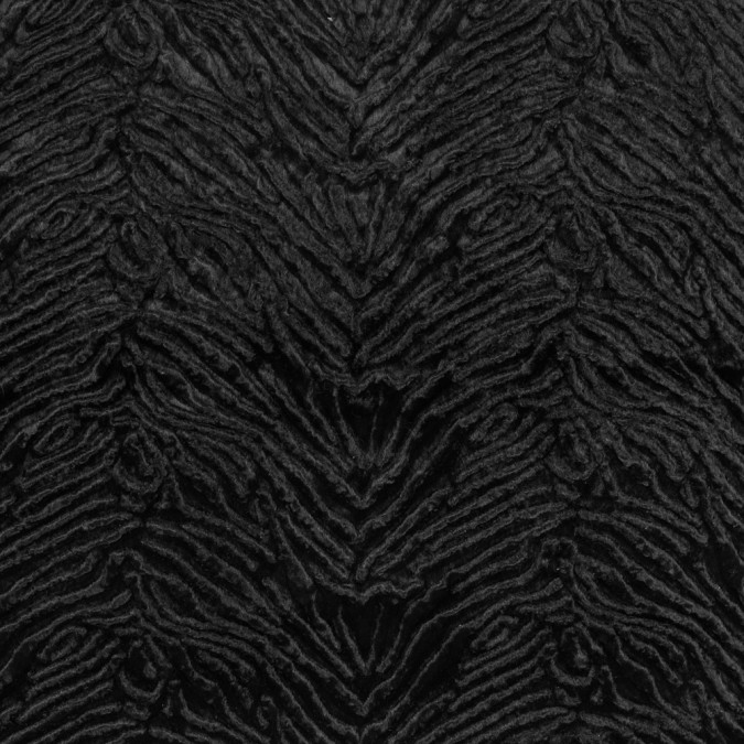 black zebra embossed velvet 312804 11