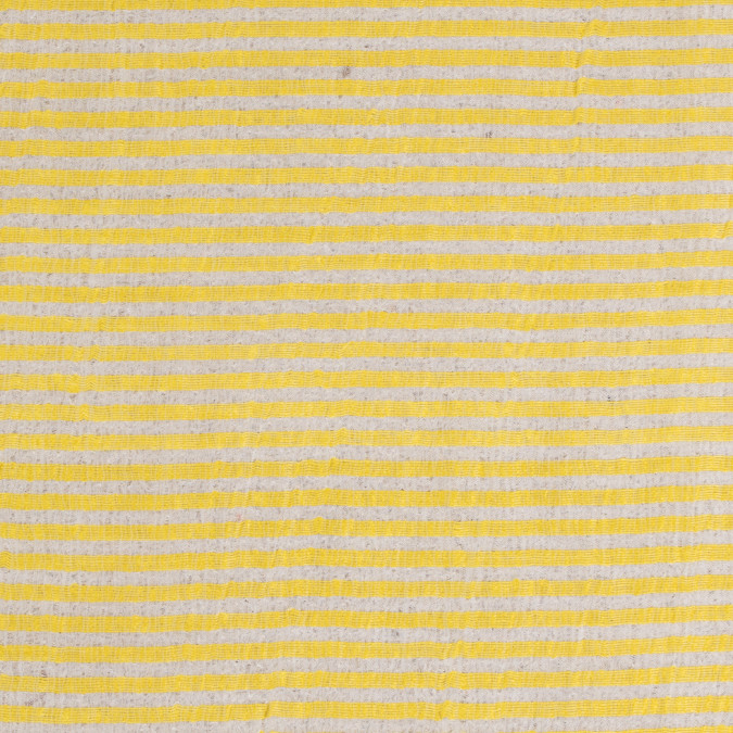 blazing yellow white candy striped crinkled organdy 310890 11