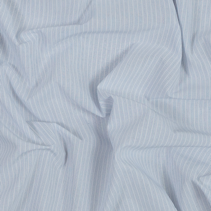 blue yellow and white striped japanese cotton shirting 318883 11
