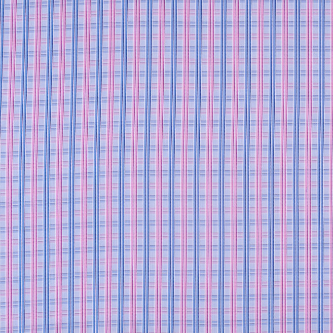 blue and pink plaid 100 cotton shirting 303550 11