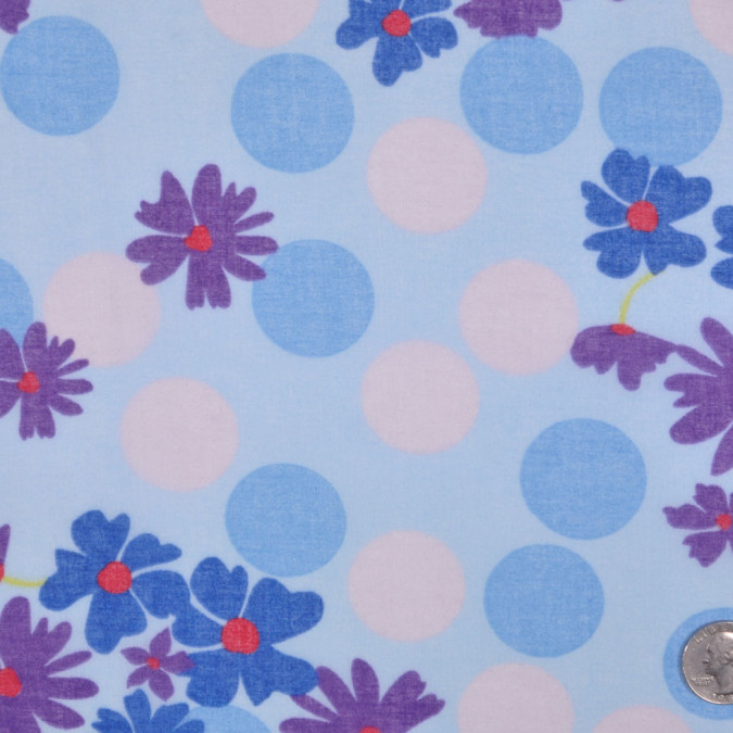 blue and violet floral cotton batiste fc12802 11