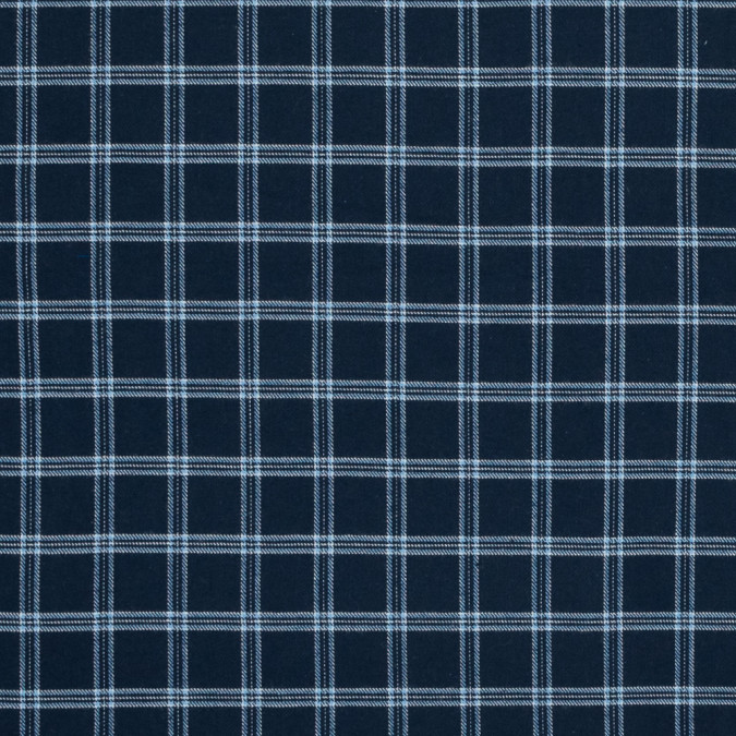 blue and white plaid cotton flannel 316013 11