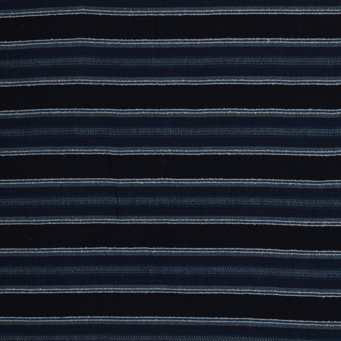 blue barcode striped textural woven 319118 11